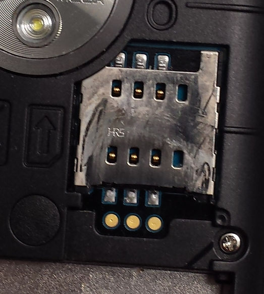 SIM Card Slot Design Issue