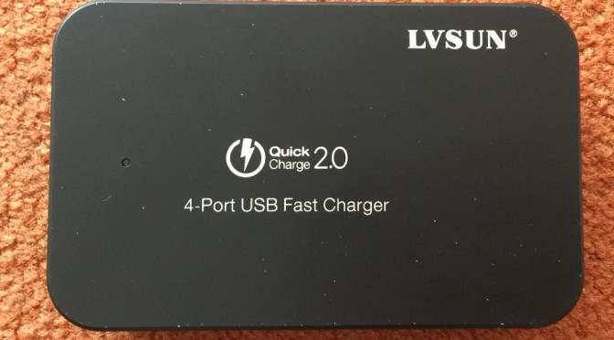 LVSUN LS-Q4U 4-Port USB-Lader Kurztest
