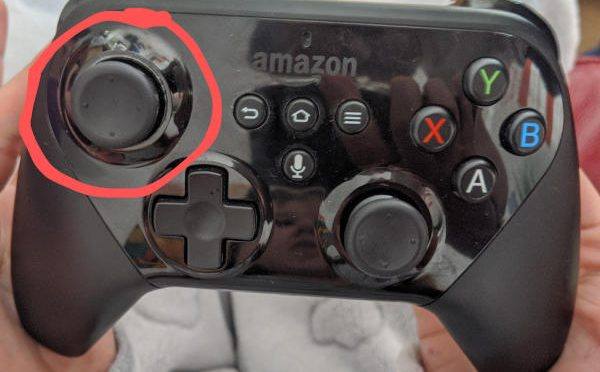 Reset Amazon Fire TV Game Controller